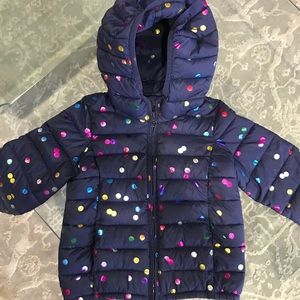 GAP Toddler 3 years Jacket Feathers